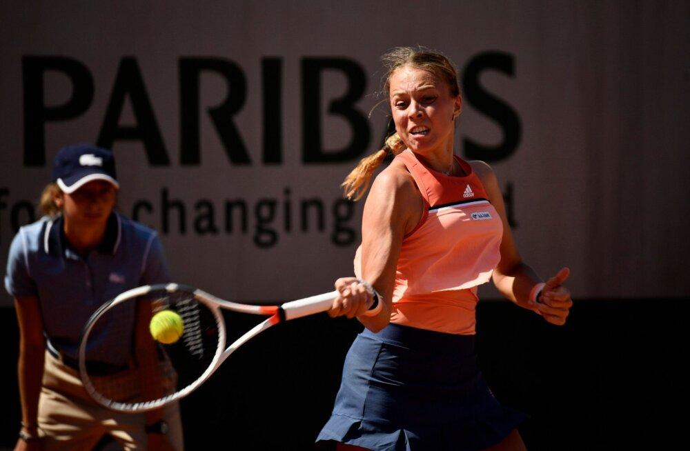 Kontaveit pääses French Openil esmakordselt kolmandasse ringi ja kohtub järgmisena Petra Kvitovaga