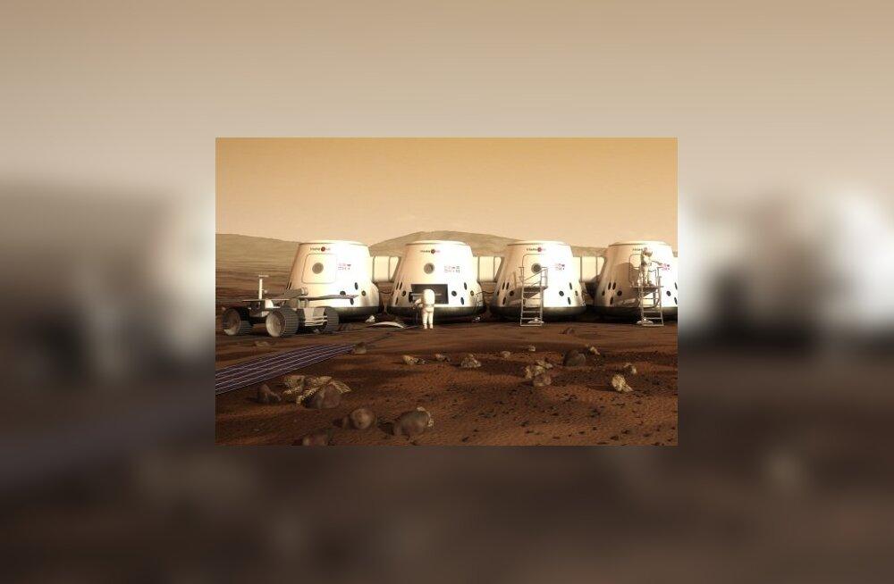 Mars One 2025. aastal?