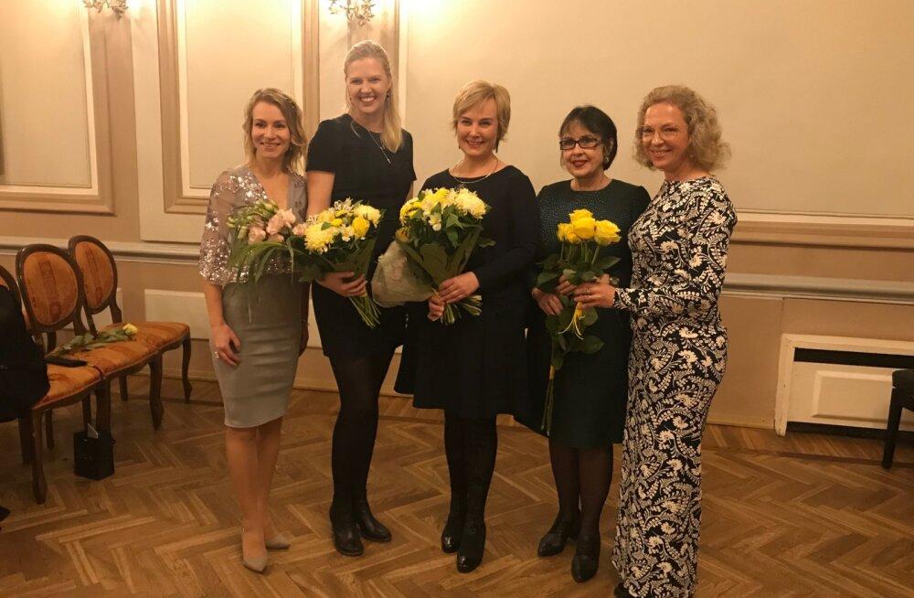 2018. aasta naine on maailmakoristuspäeva eestvedaja Eva Truuverk, nooreks naisettevõtjaks valiti tekstiilijääkide taastöötleja Ann Runnel