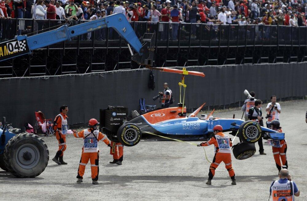 FIA maksis hingusele läinud F1-tiimile 2017. aasta osalustasu tagasi
