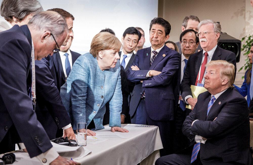 Trump kiskus ikka tüli üles: Justin Trudeau on nõrk ja ebaaus, teatas ta