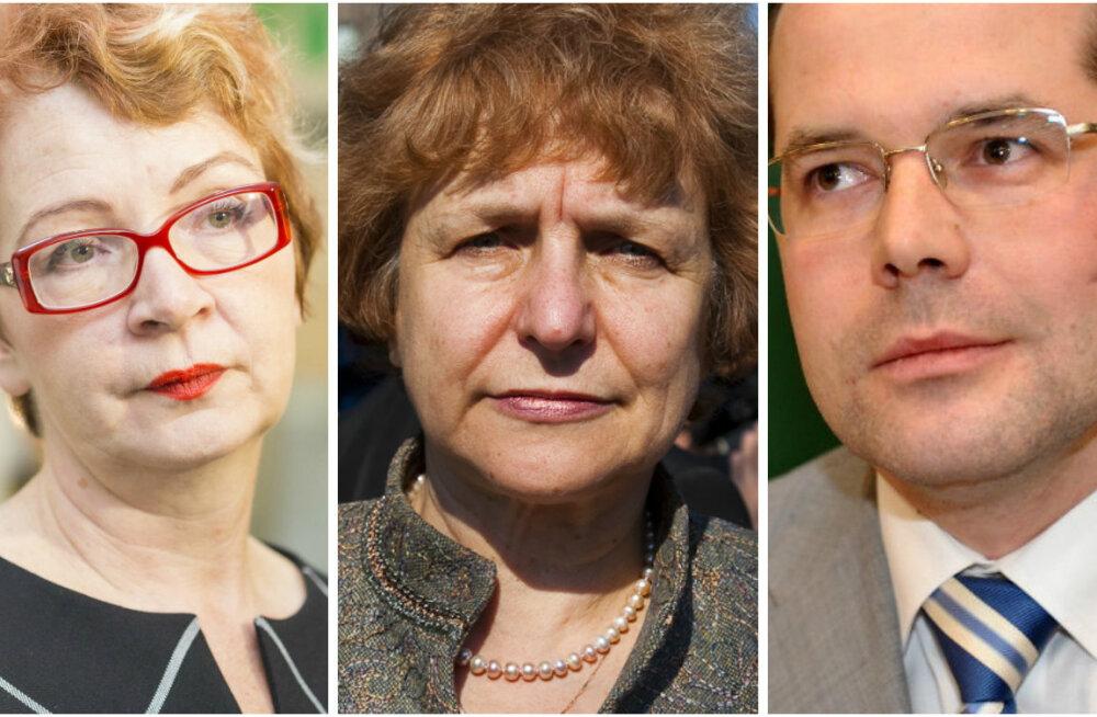 Yana Toom, Tatjana Ždanoka, Andrejs Mamikins