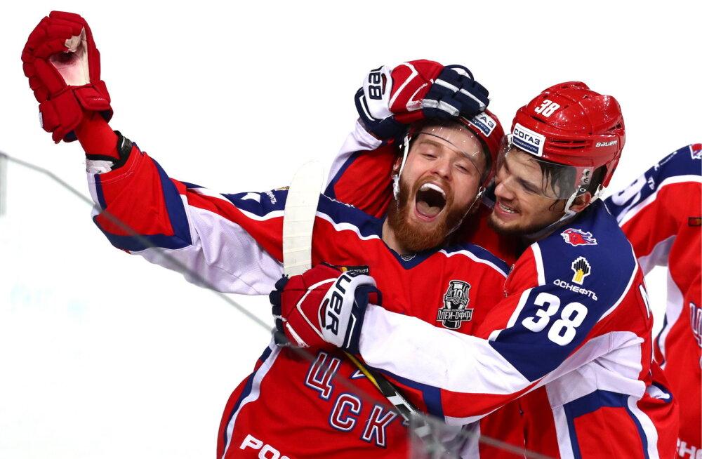 VIDEO | Olümpiavõitjatest pungil Peterburi SKA langes KHL-i poolfinaalis konkurentsist