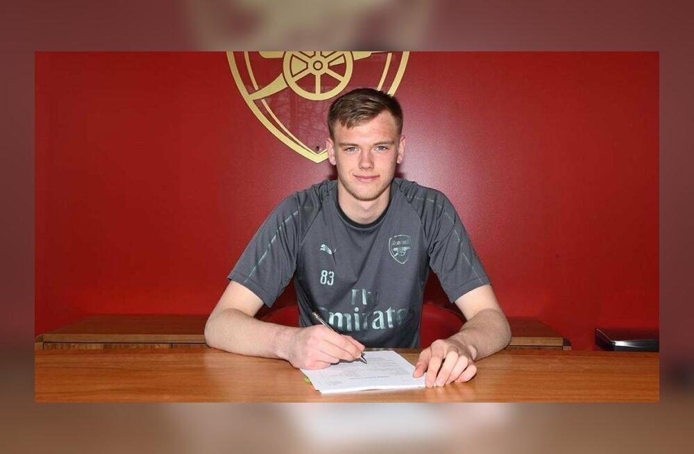 Arsenali väravat valvanud 17-aastane Karl Jakob Hein sai nii omadelt kui vastastelt hiilgetõrje eest komplimendi