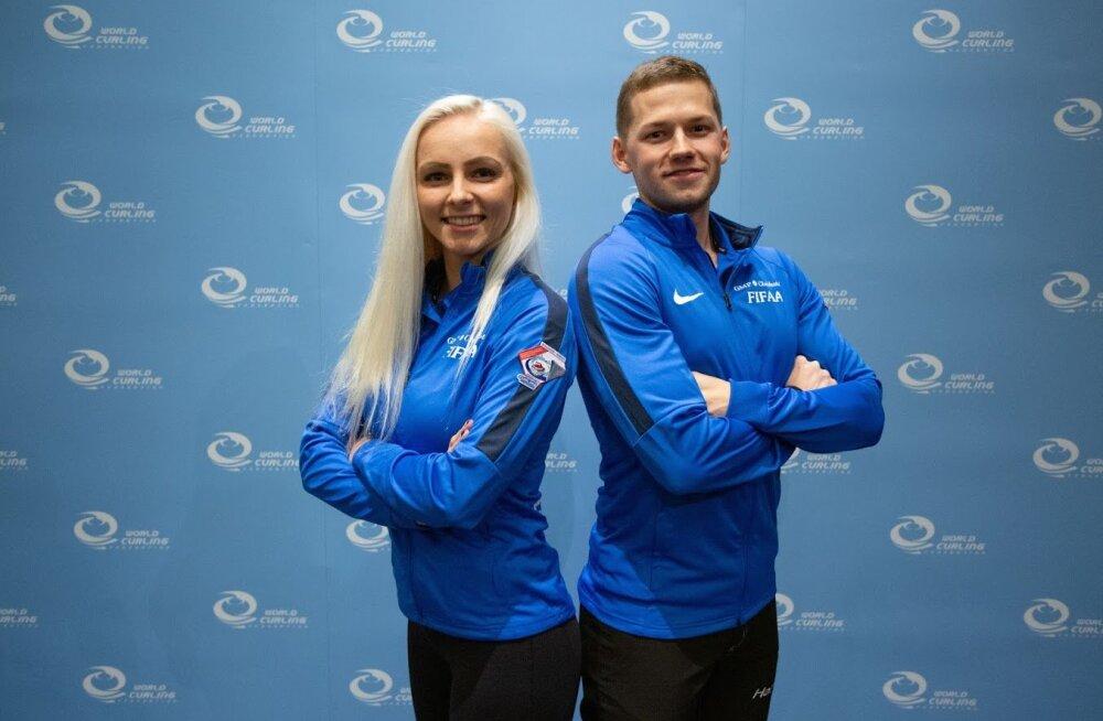 Eesti kurlingupaar alistas kodusel turniiril olümpiapronksid