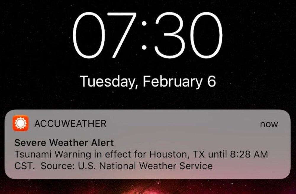 Juba jälle?! USAs saadeti inimestele tsunamihoiatus, mis osutus taas vaid katsetuseks