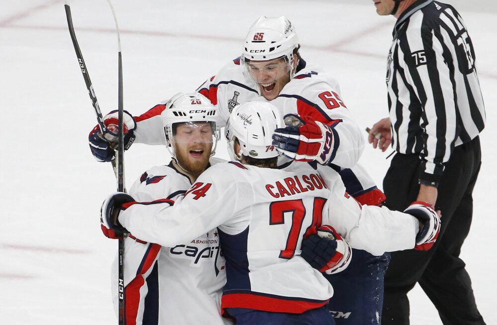 VIDEO | Taani koondislane aitas Washingtonil NHL-i finaali viigistada