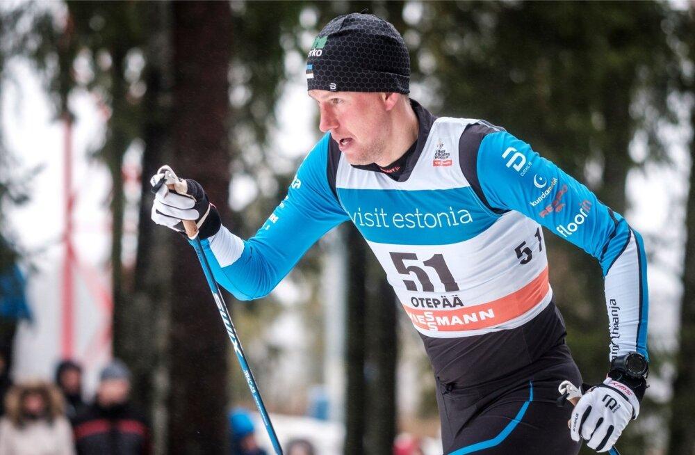Aivar Rehemaa tegi Otepääl selle hooaja parima etteaste ja oli 15 km klassikasõidus parim eestlane.
