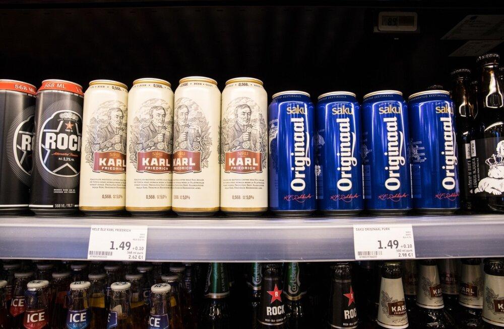Poest praegu vähem kui euro maksvat pooleliitrist õlut lihtsasti ei leia.