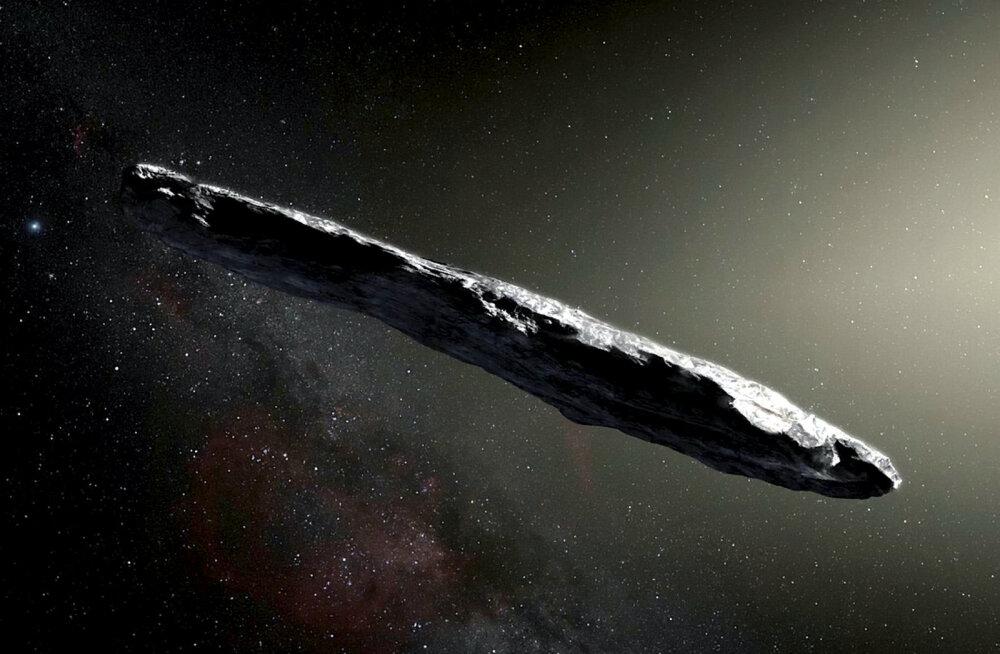Uuring: Oumuamua kummalisus ei pruugi olla tulnukatega seotud