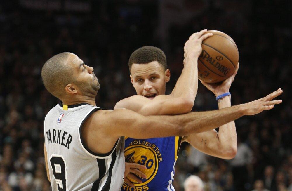 VIDEO: Spurs kinkis Warriorsile hooaja seitsmenda kaotuse