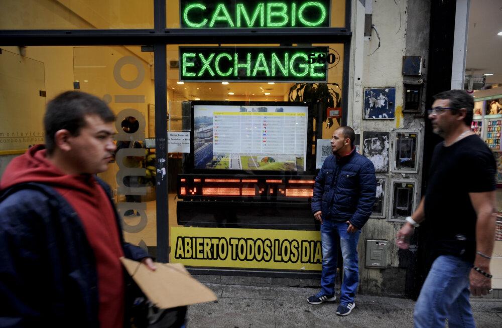Argentina suutis ehk drastiliste meetmetega peatada valuuta pagemise
