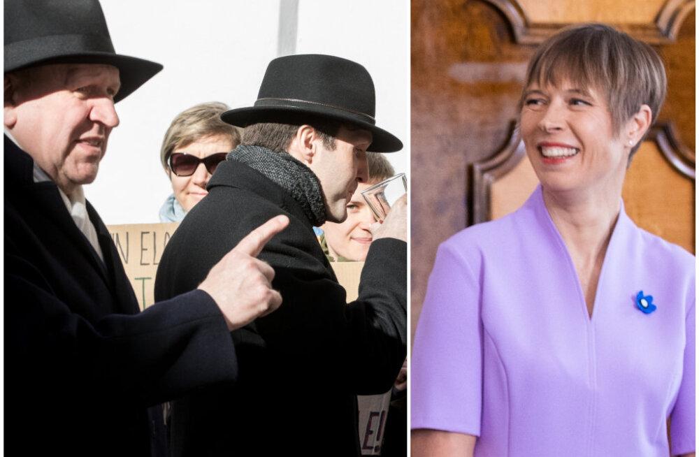 """Sünkroontõlk Kaljulaidi ja EKRE konfliktist: presidendi """"vihasõnumi"""" taga on tegelikult ekslik tõlge"""