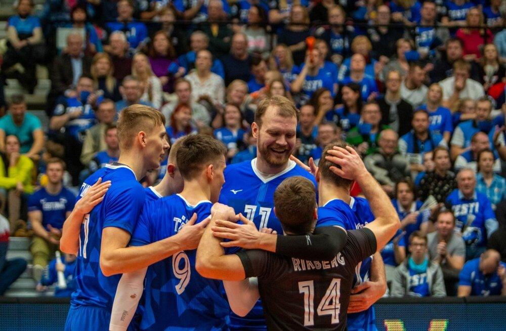 Eesti võrkpallikoondis läheb EM-il vastamisi maailmameistri Poolaga.