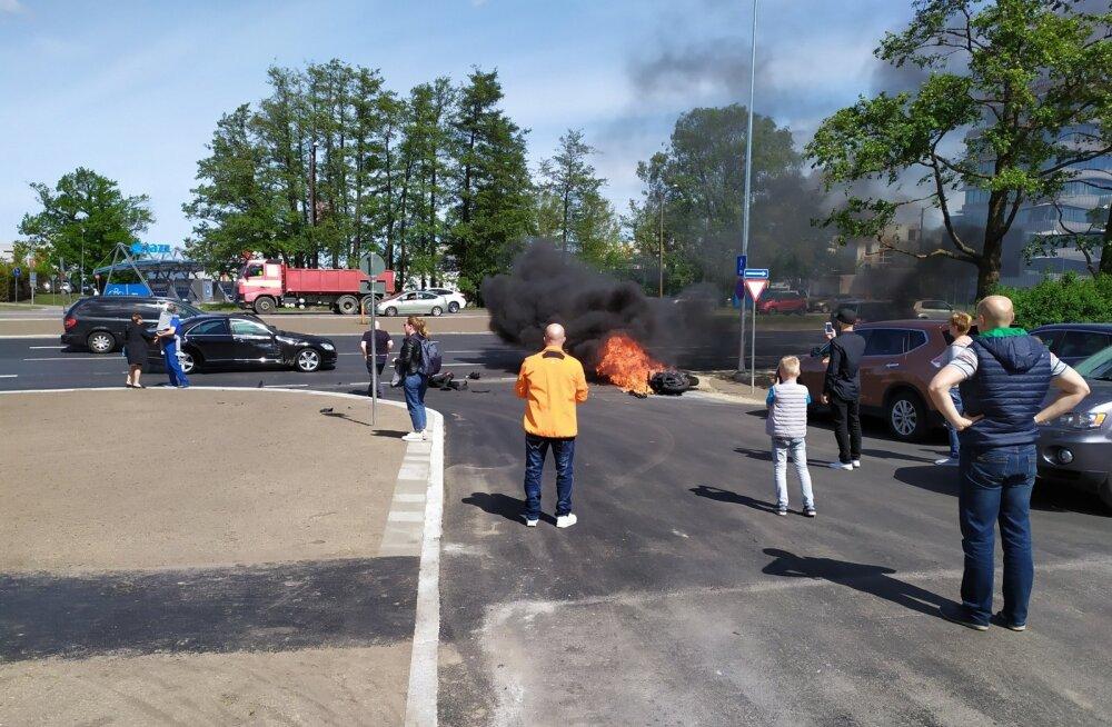 Õnnetus loomaaia lähedal