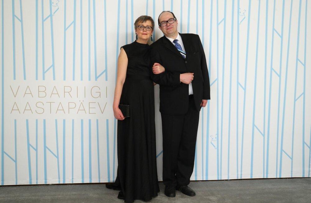 Literaat Mart Soidro ja pr Carol Merzin