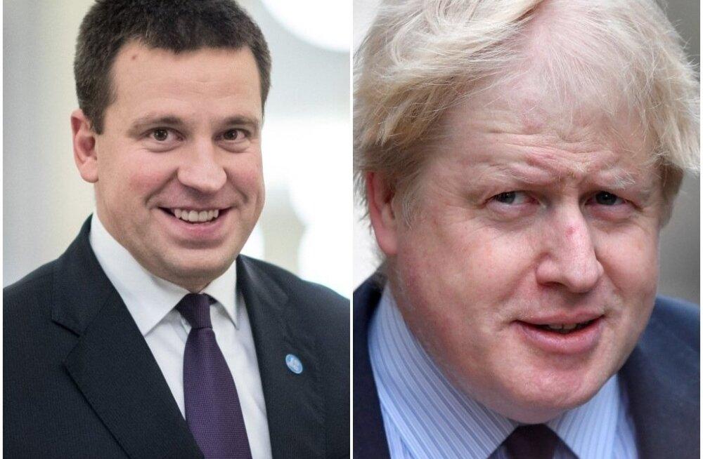 Госканцелярия подтвердила: Борис Джонсон в субботу приедет в Эстонию