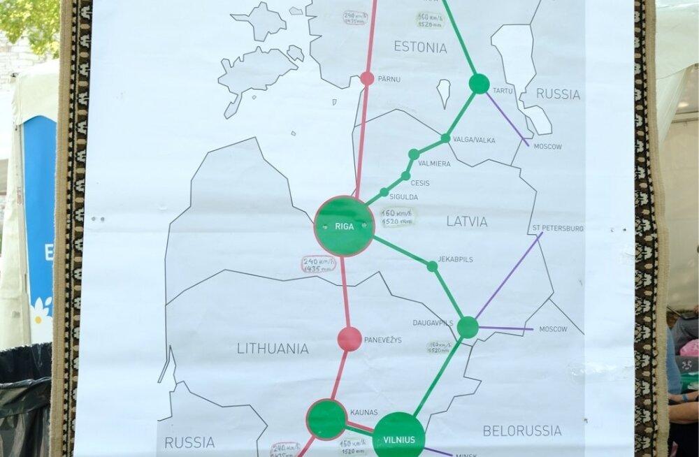 Обвинения в мошенничестве в рамках Rail Baltic: правительству Ансипа были представлены ложные данные?