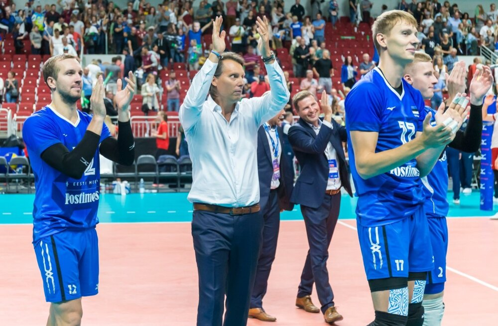 Eesti võrkpallikoondist ootab põnev hooaeg: taas üritatakse võidelda Rahvuste liiga koha eest ja sügisel seisab ees EM-finaalturniir.