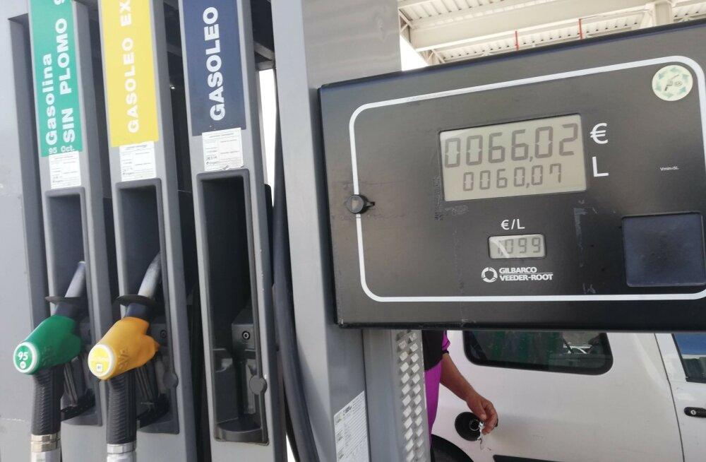 Kütusehinnad mujal Euroopas
