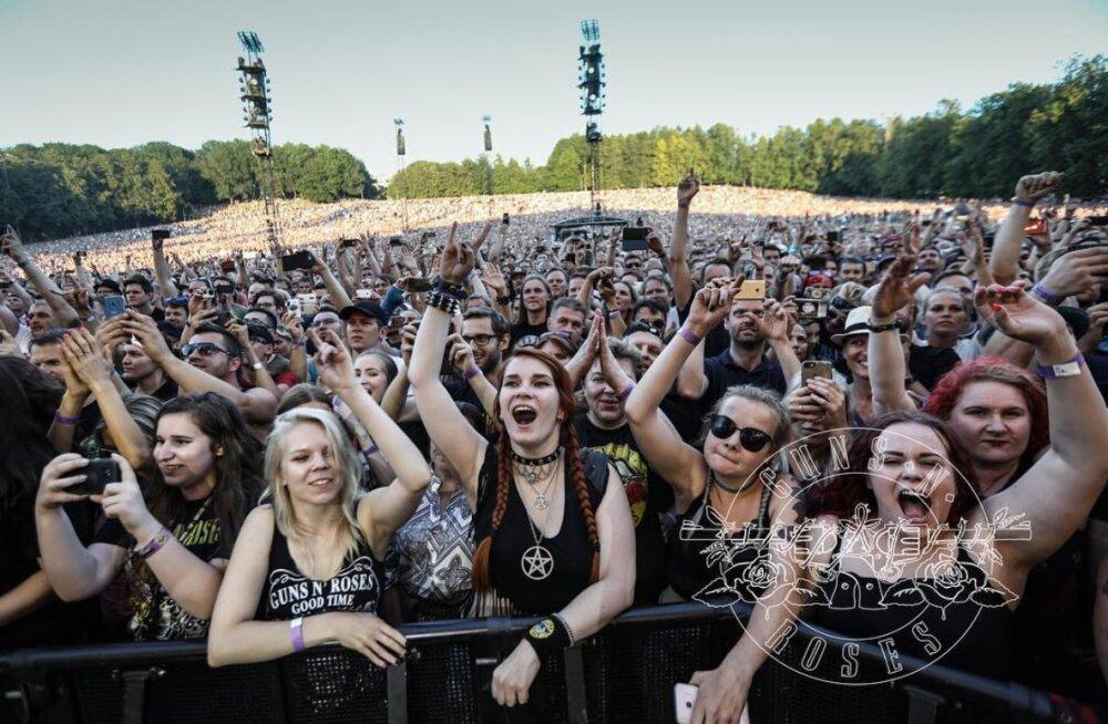 VINGE ÜLESKUTSE | Kui Sul on kontserdist tuus ülesvõte, siis Guns N' Roses tahab seda näha!