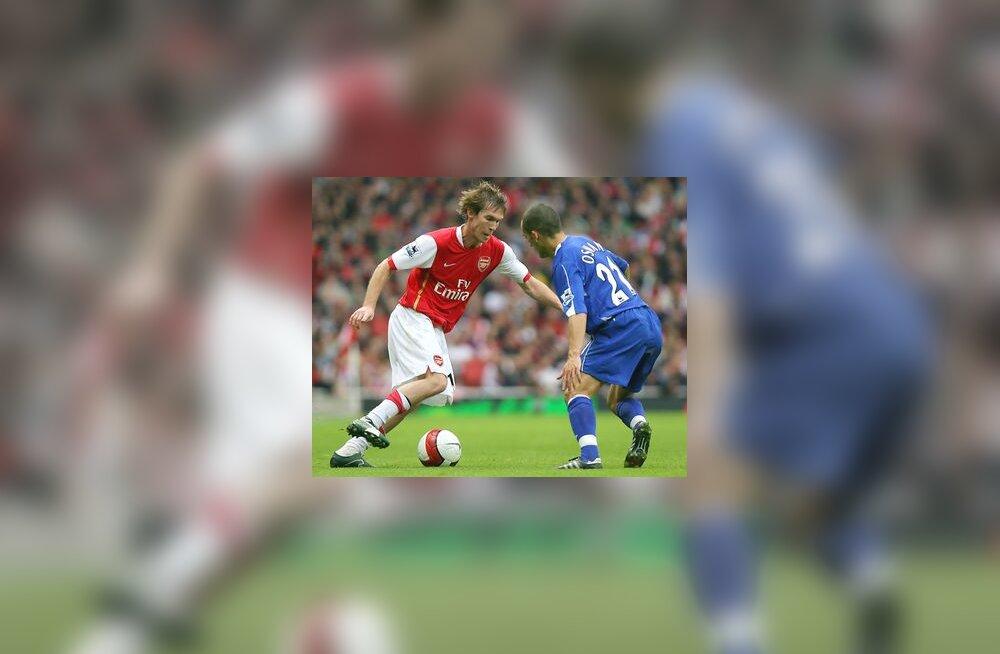 Aleksander Hleb (Arsenal)  - Leon Osman (Everton)