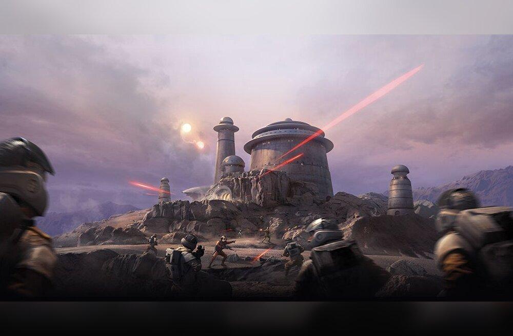 21-27. märts: uusi videomänge – SW Battlefront DLC Outer Rim, Fallout 4 DLC Automatron