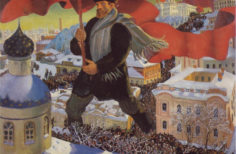 Valimised Tallinnas: 1917. aastal muutus linn väga punaseks