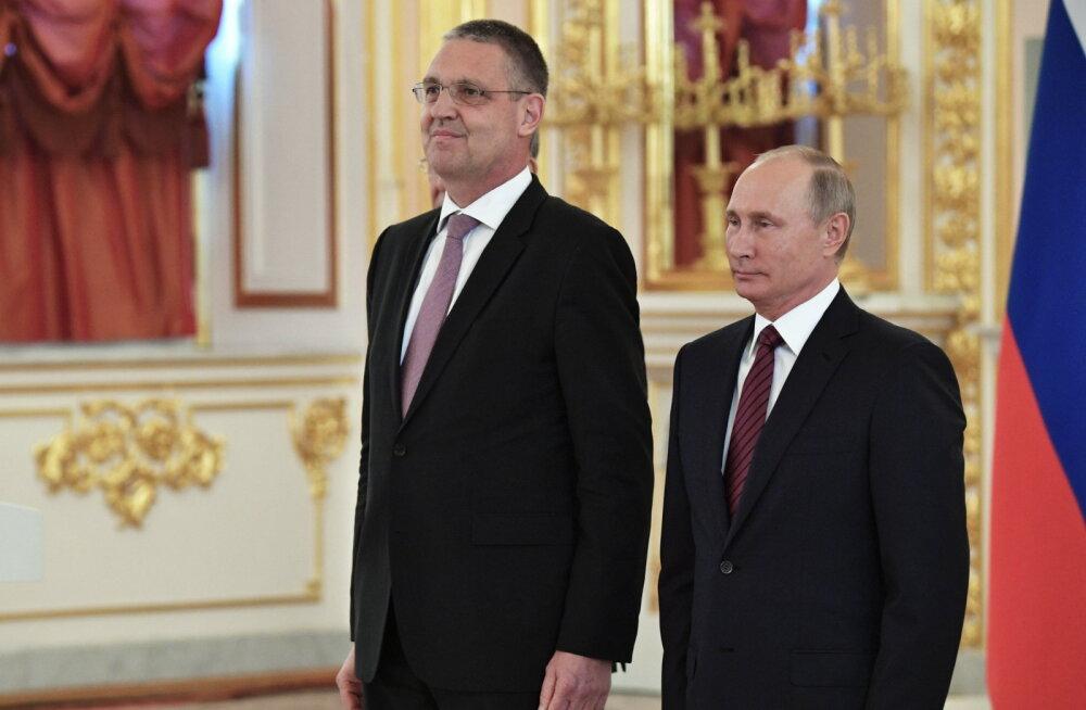 Euroopa Liidu suursaadik Moskvas: meil tuleb teha tihedamat koostööd Venemaaga, sest see on meie huvides