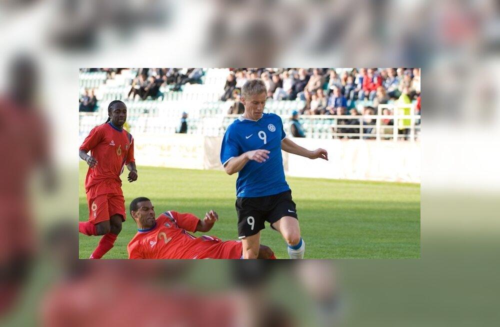 Selgus Eesti koondise lõplik koosseis mänguks Liechtensteiniga