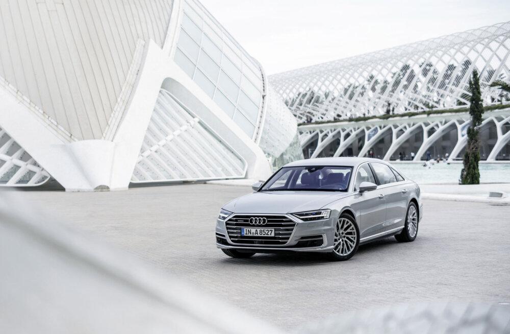 Uus Audi A8: konkurendid, vaadake tähelepanelikult – sinna me läheme!