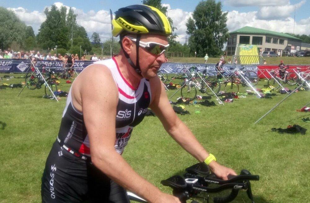 Raivo E. Tamm triatlonil