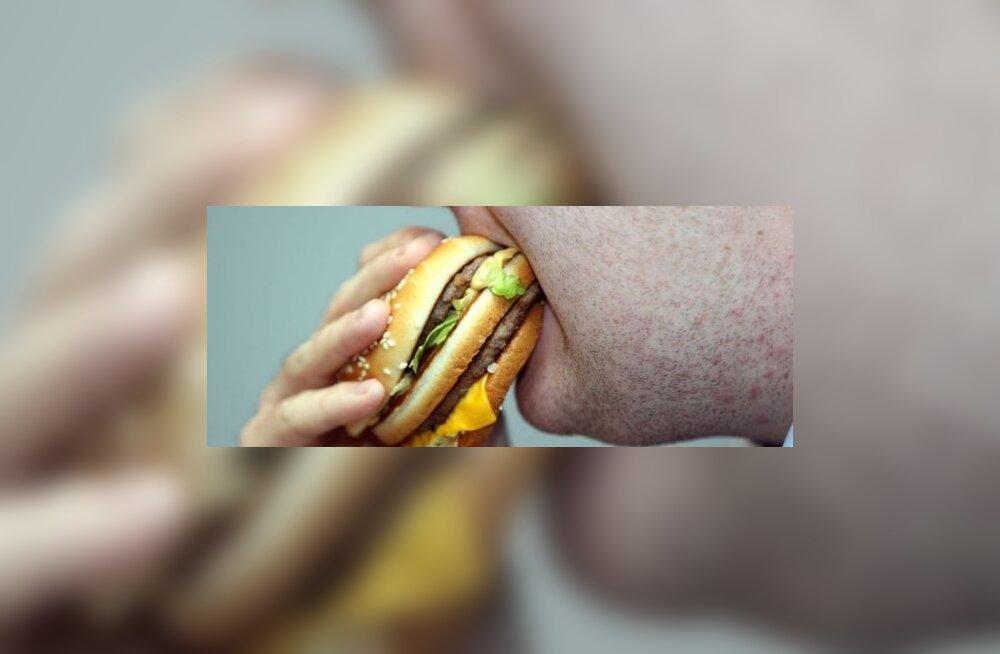 Töödeldud ja rasvane toit tekitab masendust