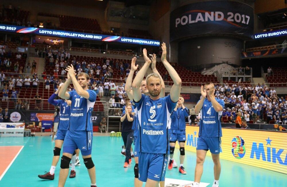 Eesti - Soome võrkpalli EM