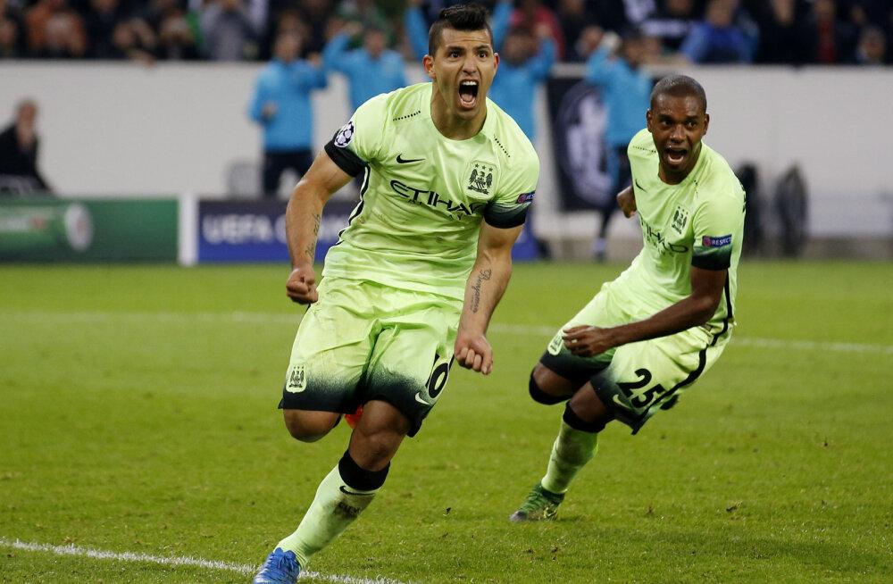 FOTOD: Meistrite liiga: Manchesteri klubid tulid rongi alt välja, Ronaldo lõi karjääri 500. värava