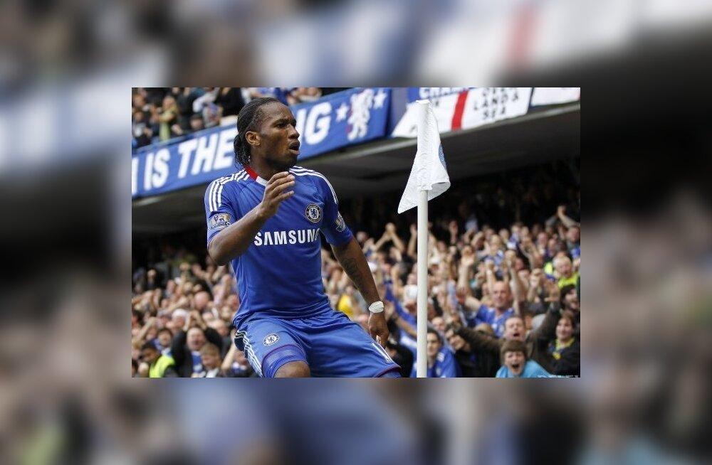 Didier Drogba, Londoni Chelsea, jalgpall