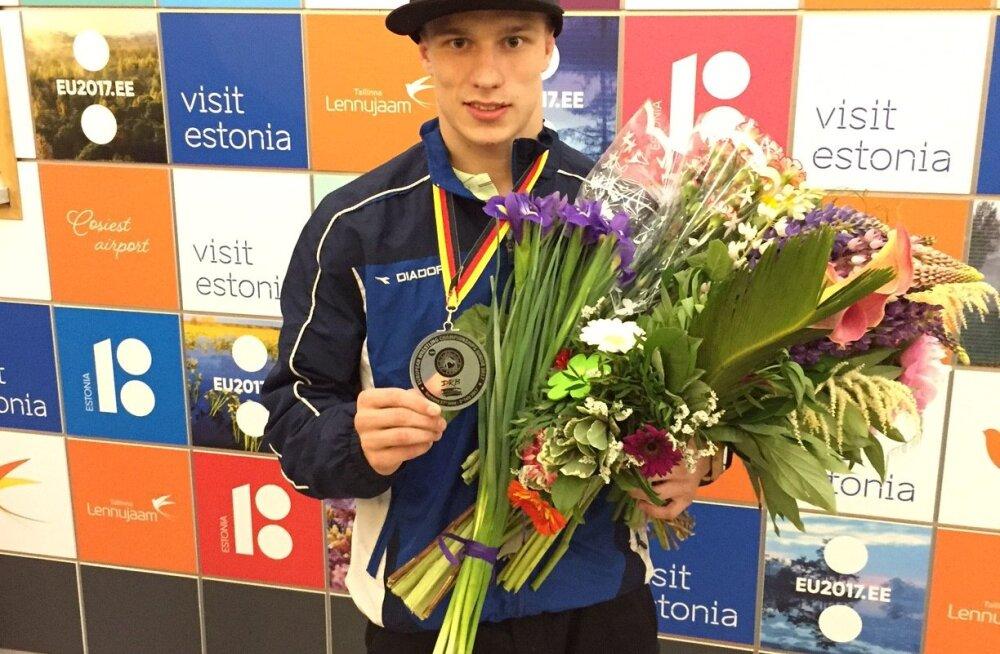 Helary Mägisalu võitis Euroopa meistrivõistlustel juuniorite vanuseklassis pronksmedali