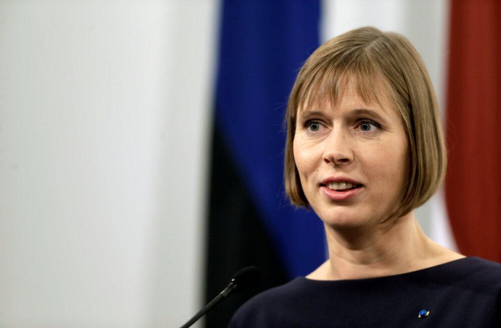 Kersti Kaljulaid intervjuus Washington Postile: mõned Putini-meelsed radikaalid räägivad väga head eesti keelt
