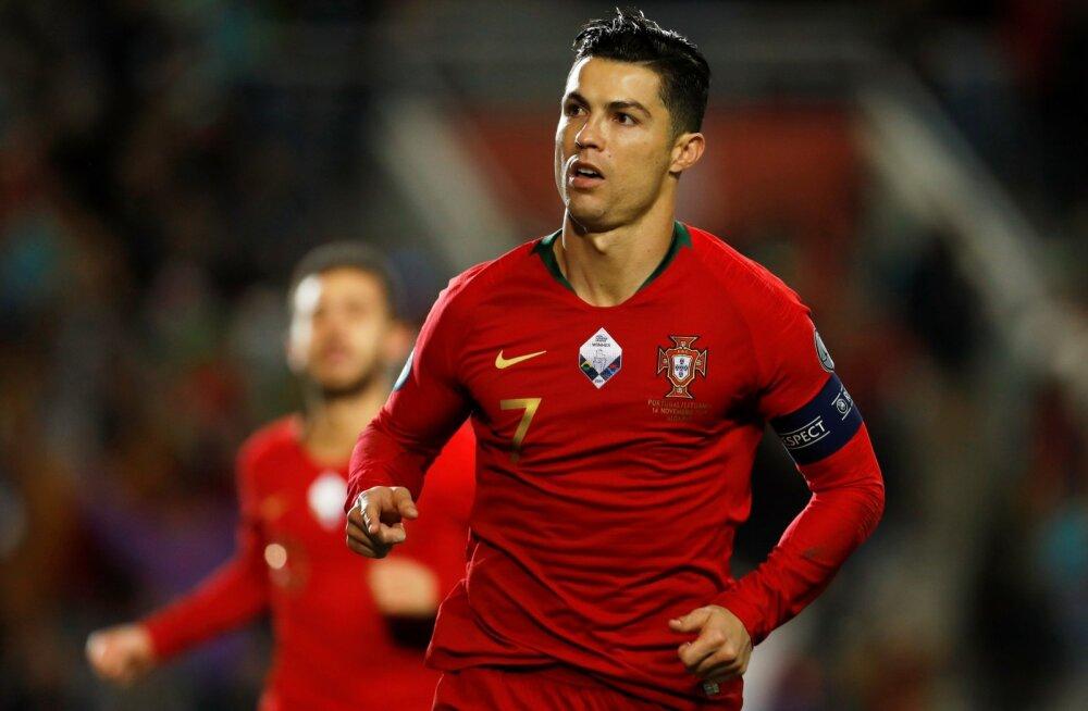 EM-i tiitlikaitsja Portugali raudvara Cristiano Ronaldo on järgmisel suvel juba 36-aastane.