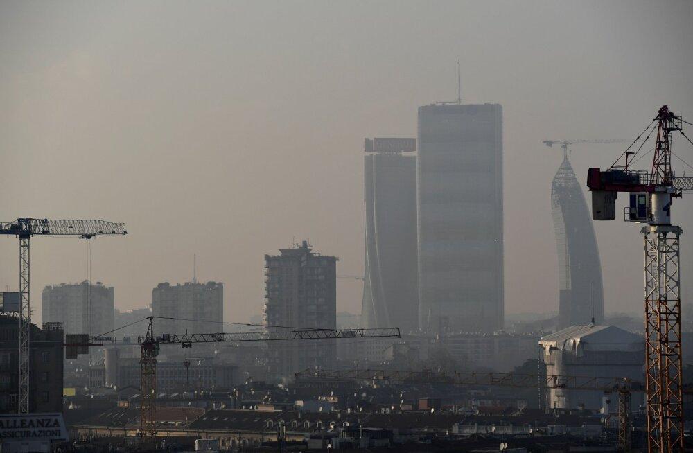 Koroonakriis on muutnud õhu kergemini hingatavaks: õhusaaste vähenes kõigepealt Hiinas ja nüüd Põhja-Itaalias