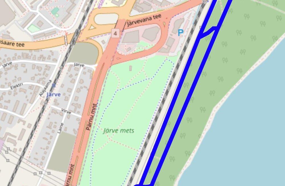 Пешеходно-велосипедная дорожка Вильяндиского шоссе будет продлена до Ярвевана