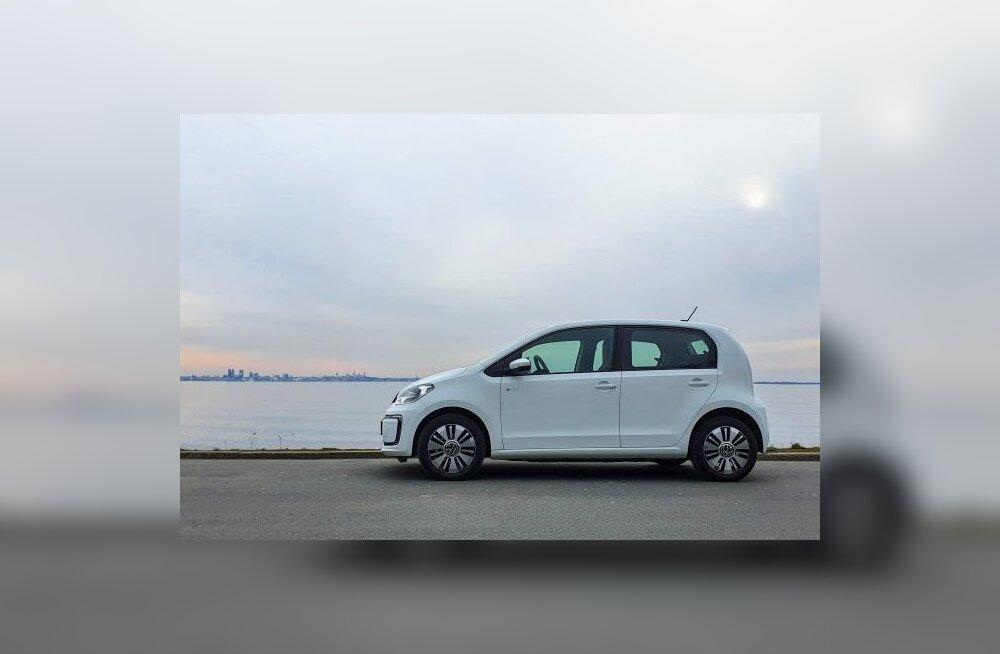 Volkswagen e-Up! elektriauto – kui minevik kohtub tulevikuga