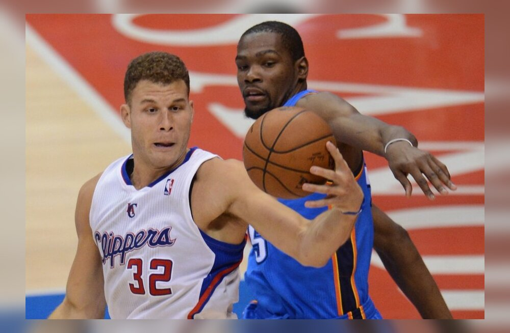 Blake Griffin, Kevin Durant, Oklahoma City Thunder, Los Angeles Clippers