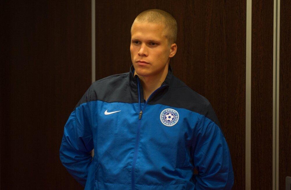 Eesti jalgpallikoondise pressikonverents Meritonis