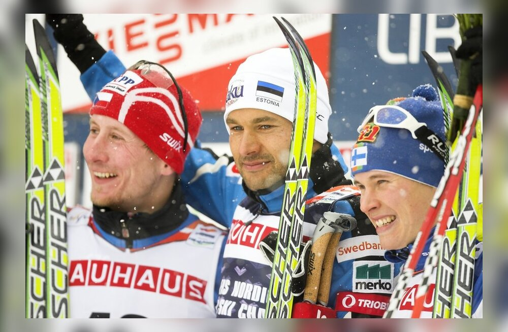 Libereci MM-i medalikolmik: Lukaš Bauer, Andrus Veerpalu, Matti Heikkinen
