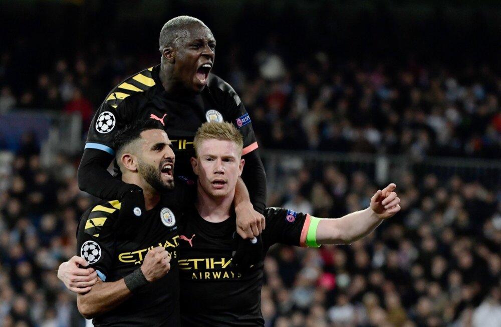 Manchester City lahkub Madridist magusa võiduga.