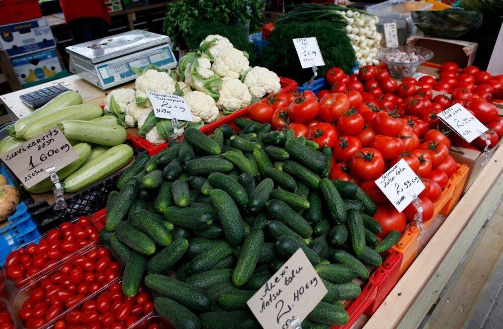 ТАБЛИЦА: Фрукты, овощи, ягоды … Как определить — эстонский продукт или нет?
