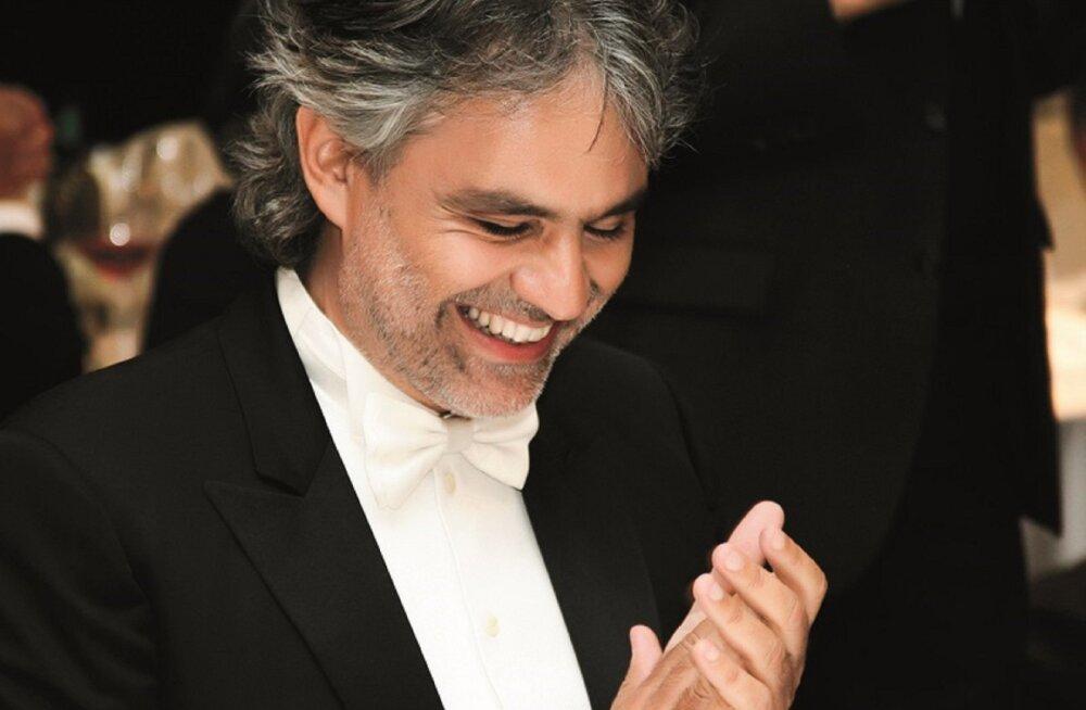 Bocelli segab kinolinal kokku ooperi, popmuusika ja iluuisutamise