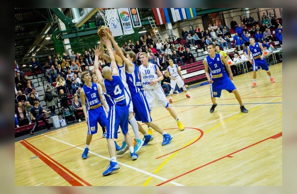 U-18 korvpallikoondis sai EM-il 38-punktise võidu