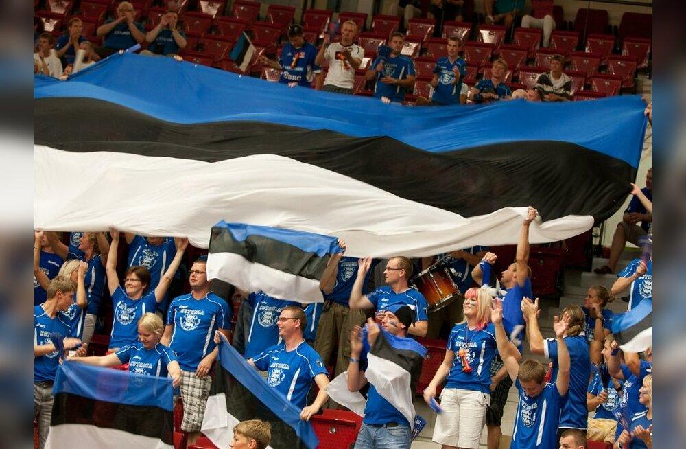 Eesti võrkpallikoondis sõidab olümpia eelvalikturniiriks Slovakkiasse